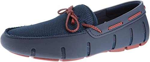 SWIMS Men& Men& Men& 039;s Braided Lace Loafer Navy rot Lacquer 11 M US M  genieße 50% Rabatt