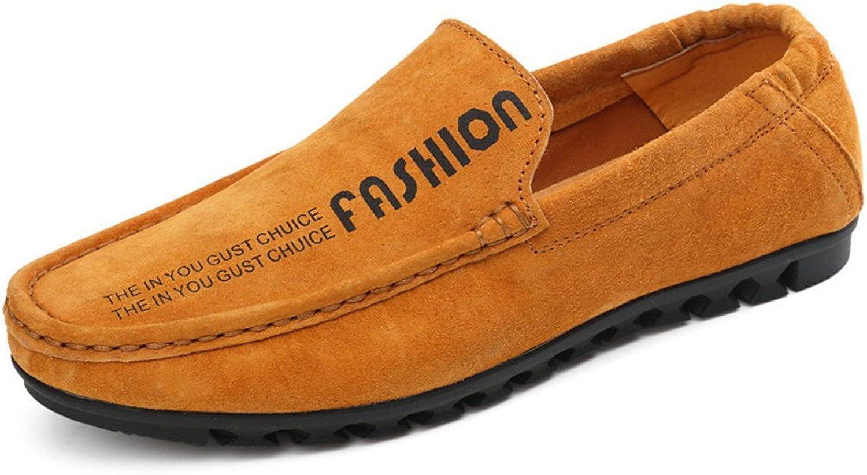 Shufang-schuhe 2018 Herren Mokassins Schuhe, Schuhe, Schuhe, Männer Fahren Penny Loafers Casual Slip-on Stiefel Mokassins Flach Weiche Sohle mit Hinter Elastic (Farbe   Braun, Größe   43 EU)  d4bab6