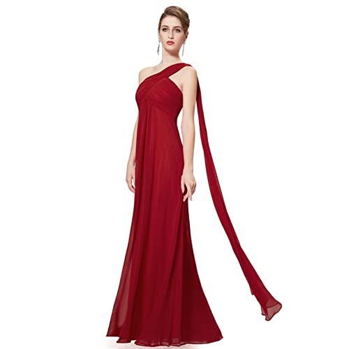 5dea5a59f1c Ever Pretty Women s One Shoulder Padded Ruffles Fashion Long Evening Dress