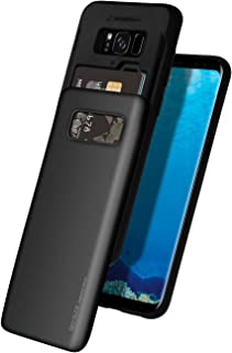 Galaxy S8 Plus Case, GOOSPERY [Sliding Card Holder] Protective Dual Layer Bumper [TPU+PC] Cover with Card Slot Wallet for ...