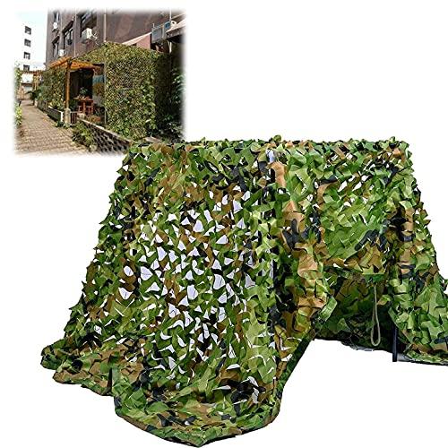 POIT Red de camuflaje, red de protección solar duradera, para decoración, caza, tiro, camping, etc.