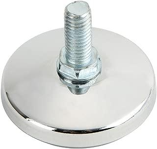 ルミナス メタルラック用パーツ 足回りパーツ 円形アジャスター 1個   ポール径25mm用パーツ  直径5.5×取り付け時高さ1.5cm P-AP