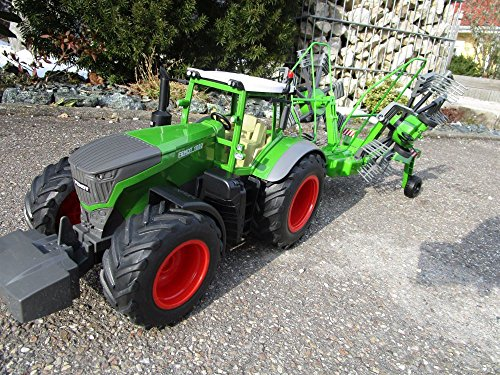 RC Auto kaufen Traktor Bild 3: RC Traktor FENDT 1050 SCHWADER-Anhänger XL Länge 70cm