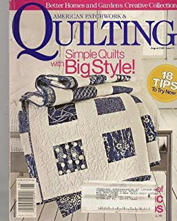 American Patchwork & Quilting, August 2006 (Better Homes & Gardens, Issue #81)