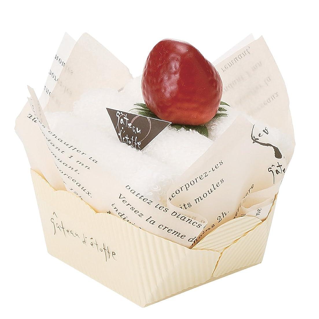 資産怖がらせる直立日本ユーテンシル ガトーエトフタオル ショートケーキ イチゴ