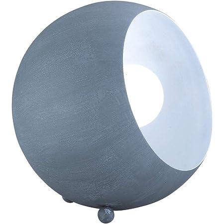 Reality, Lampe de table, Billy 1xE14, max.28,0 W Corps: metal, Couleur beton L:15,0cm, L:14,0cm, H:16,0cm IP20,Interrupteur de cordon