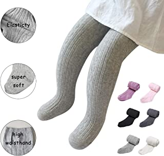ba79d03af92a0 Baby Toddler Girls Tights Seamless Cable Knit Cotton Leggings Pants  Stockings for Infant Baby Girl