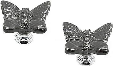 Handgrepen Voor Commode Keramische Deurknoppen Lade Handgrepen Vlinder Cartoon Enkel Gat Handvat Keramische Lade Handvat: