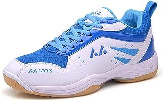 FJJLOVE Scarpe Badminton Uomini Unisex Professionale Badminton Squash Tennis Scarpe Indoor//Outdoor Sports Court Formatori,A,35