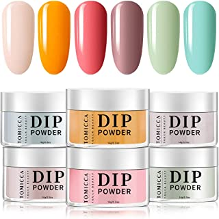 TOMICCA Acrylic Dipping Powder 6 Colours 001