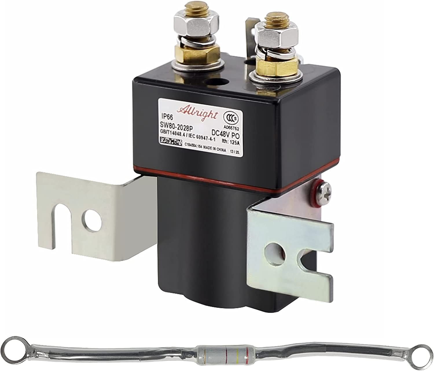 Golf Cart Solenoid 48V 4 Soleno Terminal Long Beach Mall Coil Sale SALE% OFF Albright
