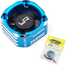 Yeah Racing Aluminum Case 30mm Booster Cooling Fan Blue #YA-0576BU