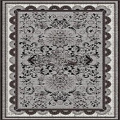 Homemania Tapis Imprimé Ethnic Trends 15-Aubusson-Décoration de Maison-Antidérapants-du Salon, du Séjour, de la Chambre-Multicolore en Polyester, Coton, 80 X 150cm