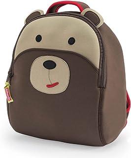 Dabbawalla Bags 学龄前和学步小熊背包,棕色