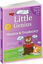 Phonics & Vocabulary: Pre Kindergarten Workbook (Little Genius Series): Learn Pronunciation of Short & Long Vowels, Consonants and Build Vocabulary (3-5 years)