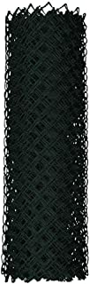 YARDGARD Chain Link Fence 4 ft. x 50 ft. Rust Resistant Galvanized Steel Black