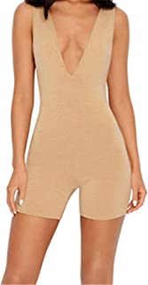 7b4797731fa2 Womens Sex Jumpsuit Cotton Jumpsuit Bodysuit Women Playsuit Body Overalls  Ladies Rompers