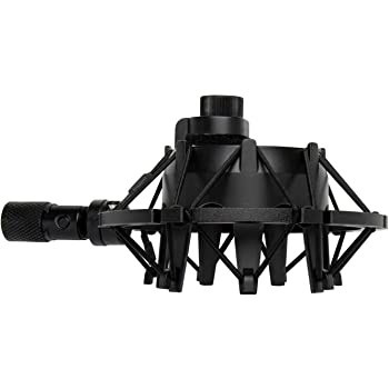 Knox Gear Shock Mount for Blue Yeti and Yeti Pro Microphones (Black)