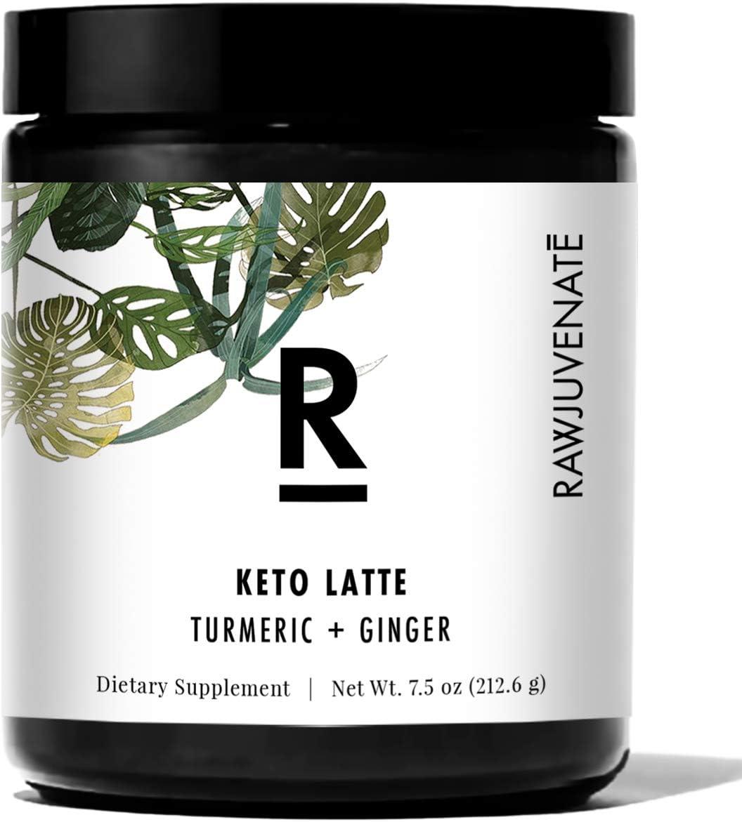 Ranking TOP5 RAWJUVENATE Max 68% OFF Keto Turmeric Latte for Ketosis Energy Loss Weight