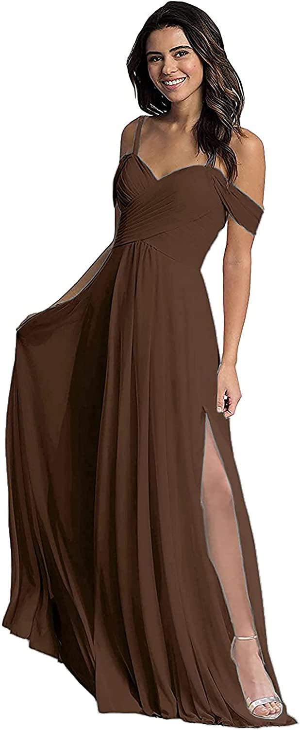 Denver Safety and trust Mall Off Shoulder Bridesmaid Dresses for Party Wedding Womens Formal