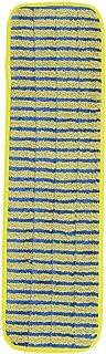 Rubbermaid Commercial Products 1791794 Frange de Nettoyage en Microfibres pour Surfaces Rugueuses 44,45cm (Pack de 6)