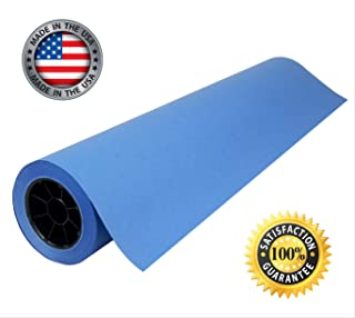 """Blue Kraft Paper Roll   24"""" x 200' (2,400"""")   Best Colored Paper for Art & Crafts, Bulletin Boards, Gift Wrapping, Table R..."""