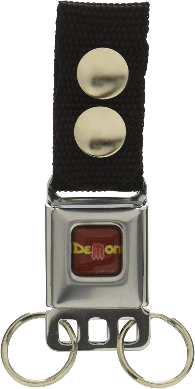 Buckle-Down Men's Keychain-Dodge Demon, Multicolor, One Size