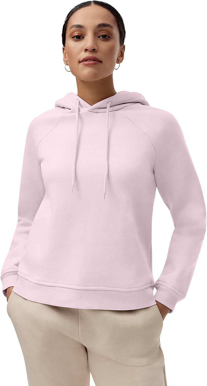 ellos Women's Plus Size Hooded Fleece Sweatshirt