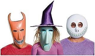 The Nightmare Before Christmas Lock, Shock, Barrel Adult Mask Set