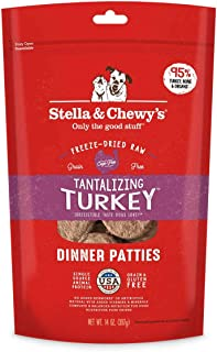 Stella & Chewy's Tantalizing Turkey Freeze Dried Dinner Patties 14oz