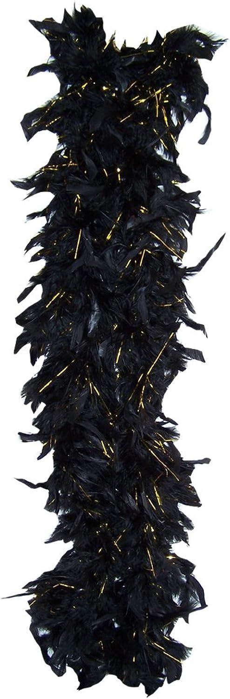 schwarz Feather Boa - 6 Foot Long boa B007VBDPNK Neuer Stil  | Neuheit Spielzeug