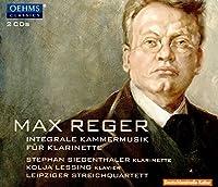 レーガー:クラリネットを伴う室内楽曲全集[2CDs]