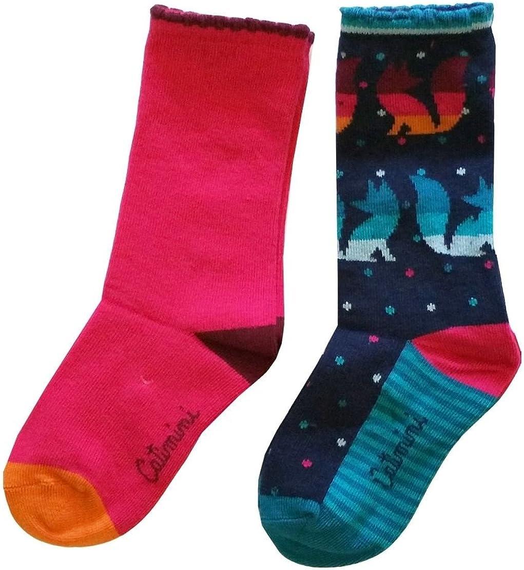 Catimini Girls Socks 2pk. cg93005-87