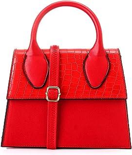 ليله فاشون حقيبة يد للنساء - احمر