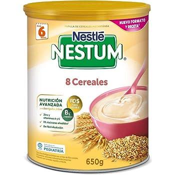 Nestlé - Papilla Nestum Expert 8 Cereales Nestlé 6m+ 600 gr ...
