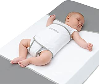 Tranquilo Safe Sleep Swaddle Blanket for Crib Safety for Newborns and Infants – Safe, Anti-Rollover Blanket in White, by R...