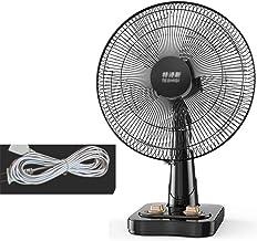 Ventilateur de table, Détaché Remuer la tête du ventilateur mécanique Spin Bouton Office de ventilateur de refroidissement...