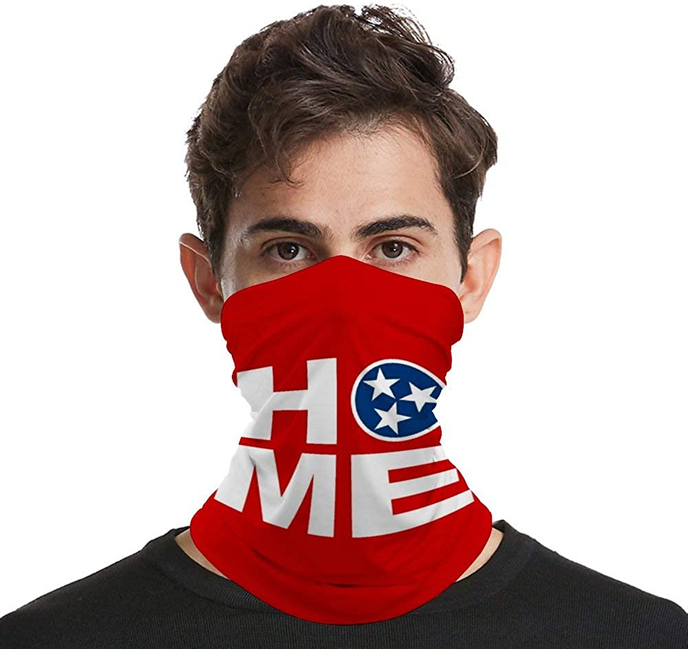 Home Neck Gaiter Face Cover Scarf Breathable Summer Cooling Seamless Bandana Wrap Face Mask - Women & Men For Dust Outdoor Festivals Sports
