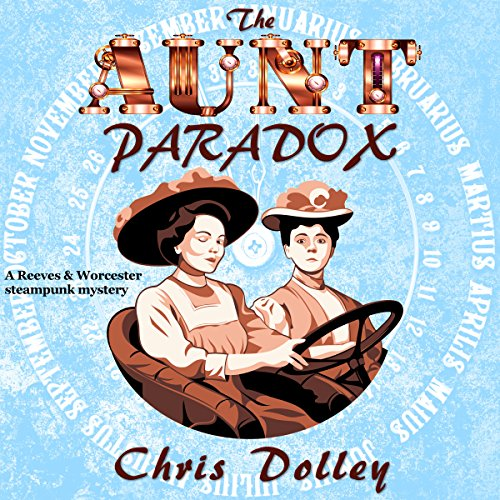 The Aunt Paradox audiobook cover art