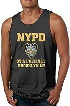 Jkhguygytftruyhrt 99th Precinct Brooklyn NYPD All Cotton Tshirt Men's Soft Waistcoat Cool Fitness T Shirts