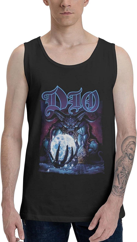 AlexBCody Dio Master of The Moon Tank Top Man's Summer Sleeveless T Shirt Fashion Vest