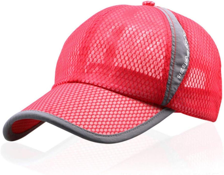 AZSXDC Mesh Hat Cap Men Women Baseball Caps Summer Cap Outdoor Sport Breathable Hats
