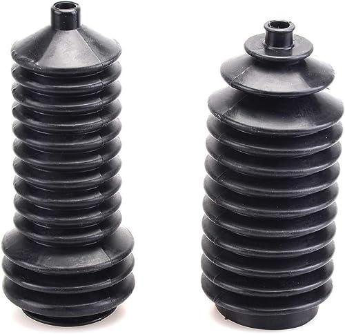 popular Mallofusa A Pair Steering Rack Boots for 2021 Polaris Ranger RZR 400 500 570 700 800 900 outlet online sale 1000 5412012 5412013 Black outlet sale