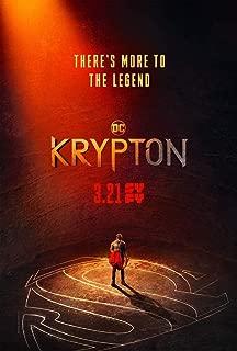 HandTao Krypton 1 2 TV Show Series Fabric Cloth Wall Poster Photo Print 36x24 Inch