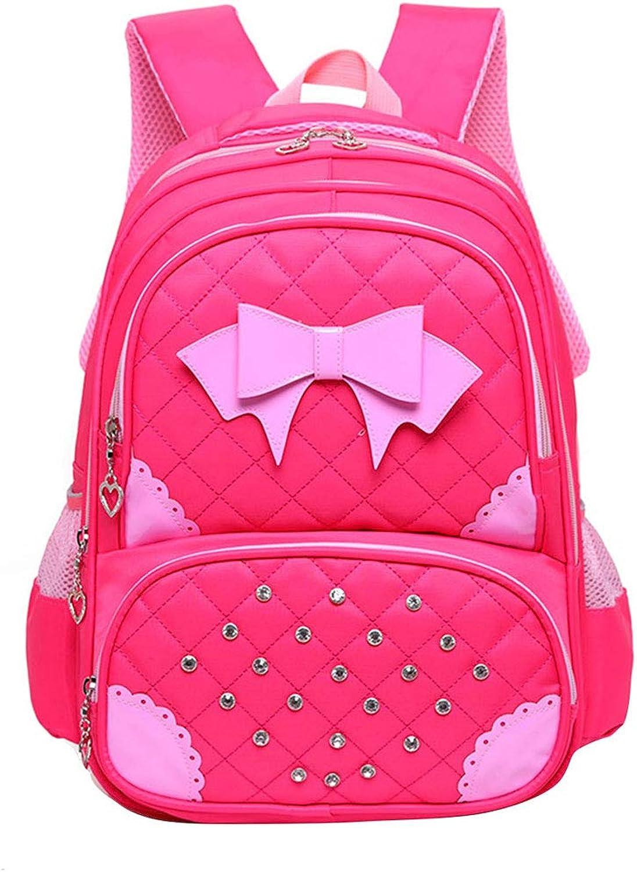 Kids School Backpacks with Side Pockets  Girls Boys MultiCompartment Waterproof Kindergarten Daypack Zhhlinyuan