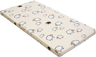 Bäst för barn barnsäng madrass babymadrass 60 x 120 orange