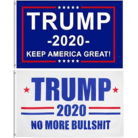 2x Gun Owner Flag 3x5 ft Gun Owners For Trump 2020 **2 PACK**