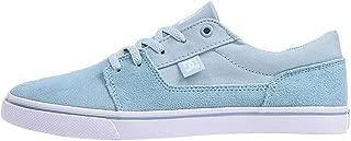 DC Women's Tonik W J Shoe LTB Light Blue Leather Sneakers-6.5 UK/India (40 EU) (3613373278258)