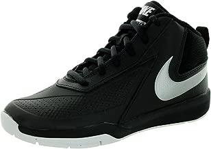 Nike White Team Hustle D Toddler Shoe