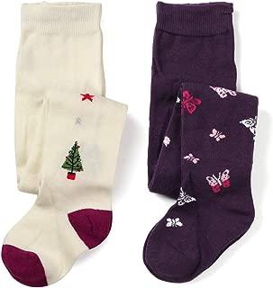 Toddler Baby Girls Fun Fashion Cotton Knit Tight Pack of 2